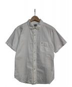 PHERROWS(フェローズ)の古着「半袖BDシャツ」|ホワイト