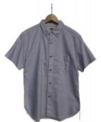 PHERROWS(フェローズ)の古着「半袖BDシャツ」|ブルー