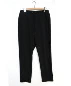 lot holon(ロットホロン)の古着「イージーサルエルパンツ」|ブラック