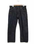 MOMOTARO JEANS(モモタロー ジーンズ)の古着「銅丹特濃スリムテーパードデニム」|インディゴ