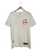 HERON PRESTON(ヘロンプレストン)の古着「プリントTシャツ」|ホワイト