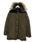 CANADA GOOSE(カナダグース)の古着「JASPER PARKA」|オリーブ