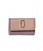 MARC JACOBS(マークジェイコブス)の古着「3つ折り財布」|ピンク×ブルー