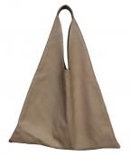 ARRON(アローン)の古着「トライアングルトートバッグ」 ピンク