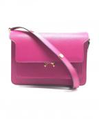 MARNI(マルニ)の古着「TRUNK BAG」|ピンク