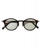 金子眼鏡(カネコガンキョウ)の古着「伊達眼鏡」|ブラウン