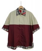 PHINGERIN(フィンガリン)の古着「MONLY SHIRT」 ベージュ
