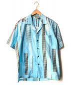 winnie fashion(ウィニーファッション)の古着「アロハシャツ」|ブルー
