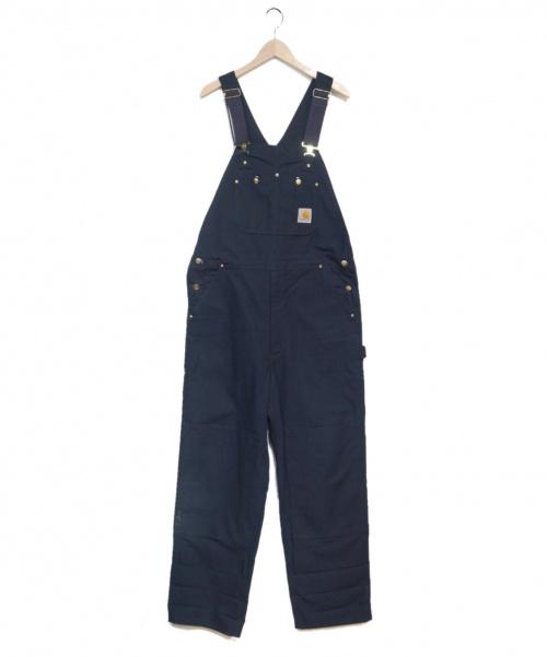 CarHartt(カーハート)CarHartt (カーハート) ダック地オーバーオール ネイビー サイズ:38の古着・服飾アイテム