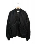 UNDEFEATED(アンディフィーテッド)の古着「MA-1ボンバージャケット」 ブラック