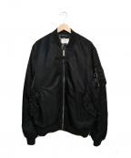 UNDEFEATED(アンディフィーテッド)の古着「MA-1ボンバージャケット」|ブラック