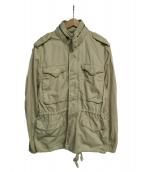 DENIM & SUPPLY RALPH LAUREN(デニムアンドサプライ ラルフローレン)の古着「M65ジャケット」|アイボリー