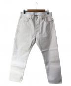 lideal(リディアル)の古着「セルビッチデニムパンツ」|ホワイト