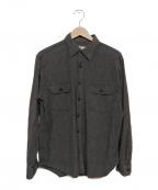 Needles(ニードルス)の古着「シャンブレーワークシャツ」|グレー