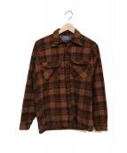 PENDLETON(ペンドルトン)の古着「ウールチェックシャツ」 ブラウン