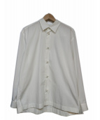 ISSEY MIYAKE MEN(イッセイミヤケメン)の古着「ワイドシルエットシャツ」 ホワイト
