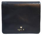 agnes b(アニエスベ)の古着「2つ折り財布」|ブルー