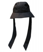 Y-3(ワイスリー)の古着「FLAP BUCKET ハット」|ブラック