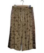 SASQUATCHfabrix.(サスクワッチファブリックス)の古着「OLD NANPOU EASY PANTS」|ブラウン