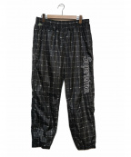 Supreme×LACOSTE(シュプリーム×ラコステ)の古着「リフレクティブトラックパンツ」|ブラック