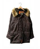ALPHA(アルファ)の古着「N-3Bタイプコート」 ブラック