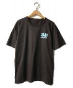 Denham(デンハム)の古着「クルーネックTシャツ」|ブラウン
