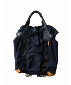 Hender Scheme(エンダースキマー)の古着「functional back pack」 ネイビー