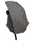 Cote&Ciel(コートエシェル)の古着「デザインバックパック」|グレー