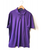 POLO RALPH LAUREN(ポロ・ラルフローレン)の古着「ポロシャツ」|パープル