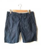 Engineered Garments(エンジニアドガーメンツ)の古着「ハーフパンツ」|ネイビー