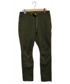 GRAMICCI(グラミチ)の古着「CLIMBER EASY PANTS」|オリーブ