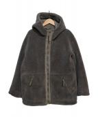 LE GLAZIK(ルグラジック)の古着「フェイクムートンリバーシブルジャケット」|グレー