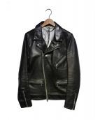 SHIPS JET BLUE(シップスジェットブルー)の古着「ライダースジャケット」 ブラック