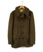 RRL(ダブルアールエル)の古着「ウールPコート」|オリーブ