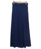 LANVIN en Bleu(ランバンオンブルー)の古着「ニットパンツ」 ネイビー