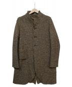 KAPITAL(キャピタル)の古着「スタンドカラーウールコート」|グレー