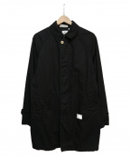 BEDWIN(ベドウィン)の古着「ステンカラーコート」 ブラック