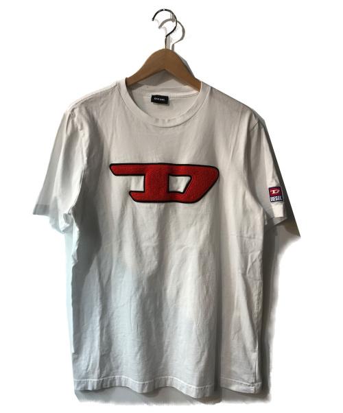 DIESEL(ディーゼル)DIESEL (ディーゼル) Tシャツ ホワイト サイズ:Mの古着・服飾アイテム