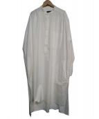 syte(サイト)の古着「ロングシャツ」|ホワイト