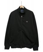 FRED PERRY(フレッドペリー)の古着「ハリントンジャケット」|ブラック