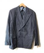 OLD JOE & Co.(オールドアンドジョー)の古着「リネンダブルジャケット」|ネイビー