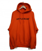 APPLEBUM(アップルバム)の古着「プルオーバーパーカー」|オレンジ