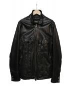 FREES SHOP(フリーズショップ)の古着「レザージャケット」|ブラック