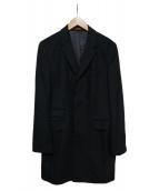 PS Paul Smith(ピーエスポールスミス)の古着「チェスターコート」|ブラック