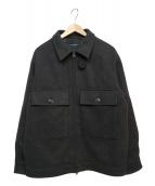 niko and(ニコアンド)の古着「WECPOシャツジャケット」 グレー