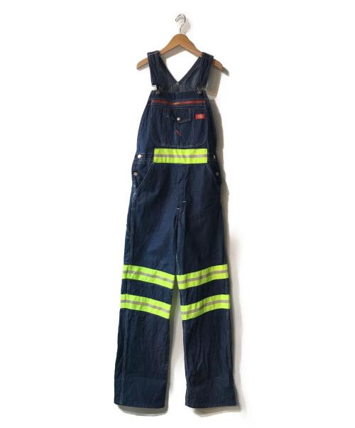 Dickies(ディッキーズ)Dickies (ディッキーズ) リフレクターオーバーオール インディゴ サイズ:30×32の古着・服飾アイテム
