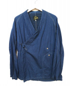 Needles(ニードルス)の古着「Chinese button samue jacket」|インディゴ