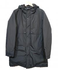THE NORTHFACE PURPLELABEL(ザノースフェイスパープルレーベル)の古着「65/35HOOD DOWN COAT」|ブラック