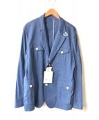 Orobianco(オロビアンコ)の古着「テーラードジャケット」|ブルー