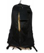 ARCTERYX(アークテリクス)の古着「ARRO22 BACK PACK」|ブラック